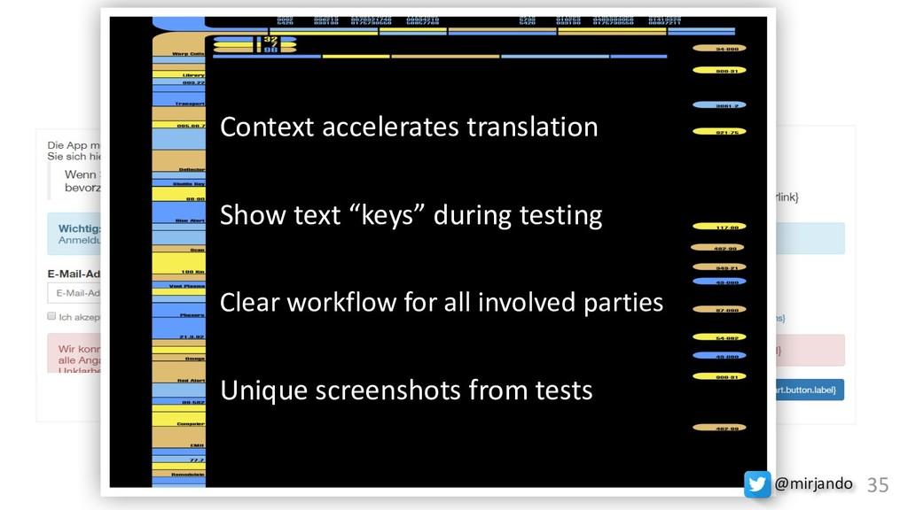 Experience the Contex(n)t textValues textKeys C...