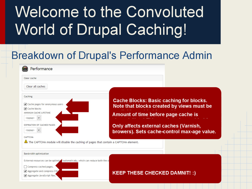 Welcome to the Convoluted World of Drupal Cachi...