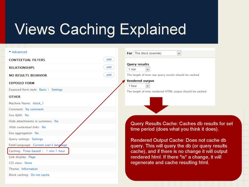 Views Caching Explained Query Results Cache: Ca...