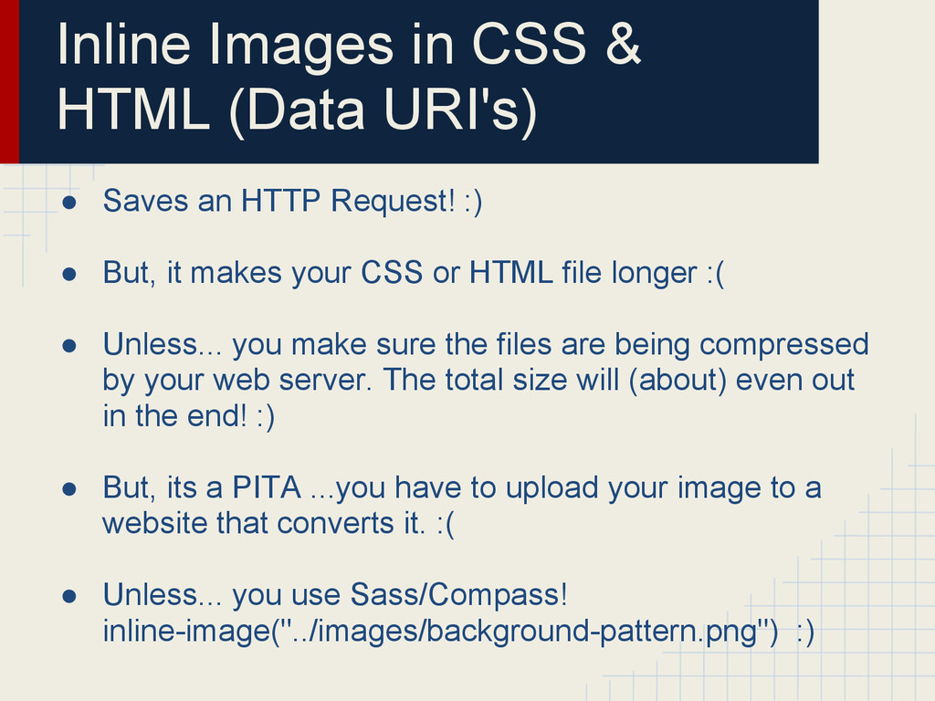 Inline Images in CSS & HTML (Data URI's) ● Save...