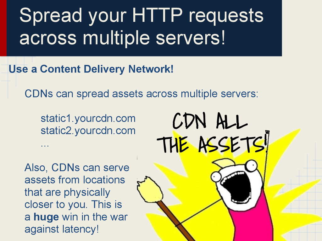 Spread your HTTP requests across multiple serve...