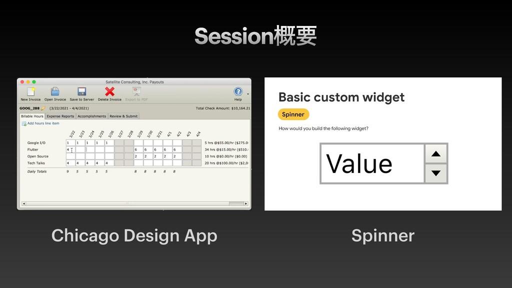 Chicago Design App Spinner Session֓ཁ