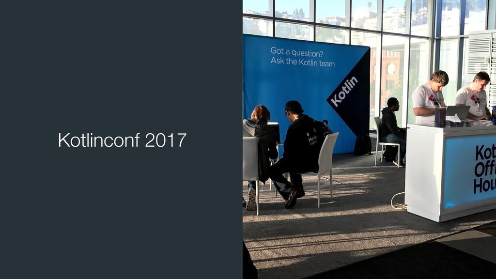 Kotlinconf 2017