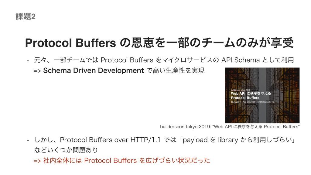 ©2020 Wantedly, Inc. Protocol Buffers ͷԸܙΛҰ෦ͷνʔ...