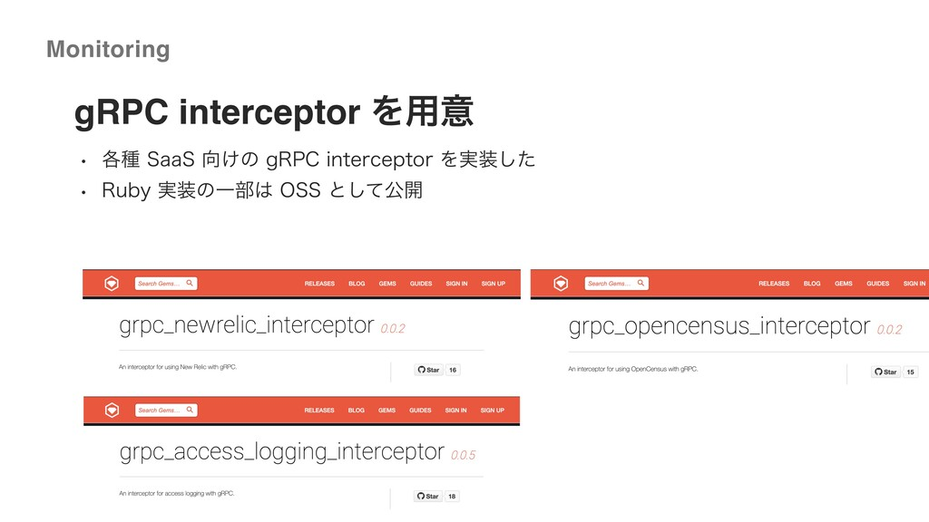©2020 Wantedly, Inc. Monitoring gRPC intercepto...