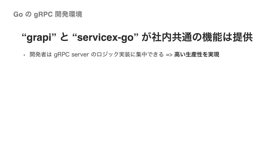 "©2020 Wantedly, Inc. ""grapi"" ͱ ""servicex-go"" ͕ࣾ..."