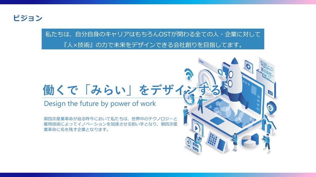 第四次産業革命が迫る昨今において私たちは、世界中のテクノロジーと 雇用技術によってイノベーショ...