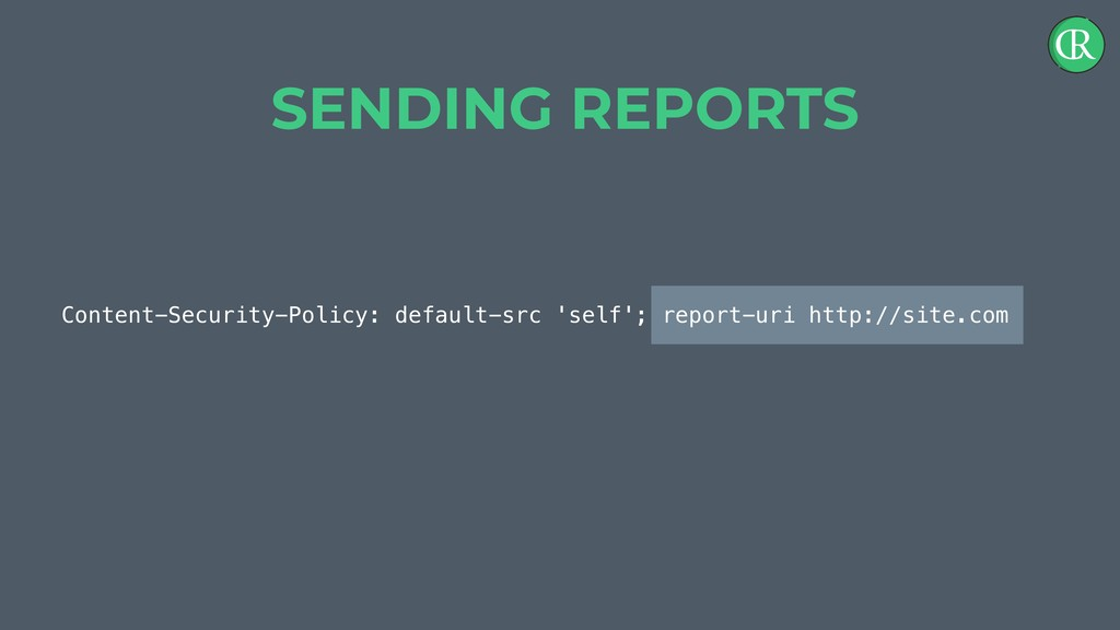 Content-Security-Policy: default-src 'self'; re...