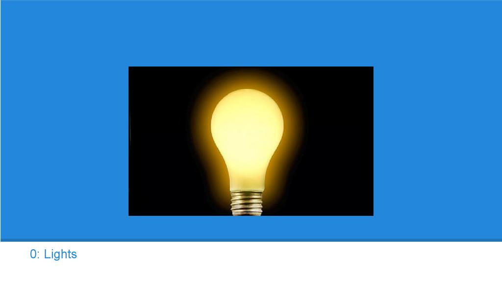 0: Lights