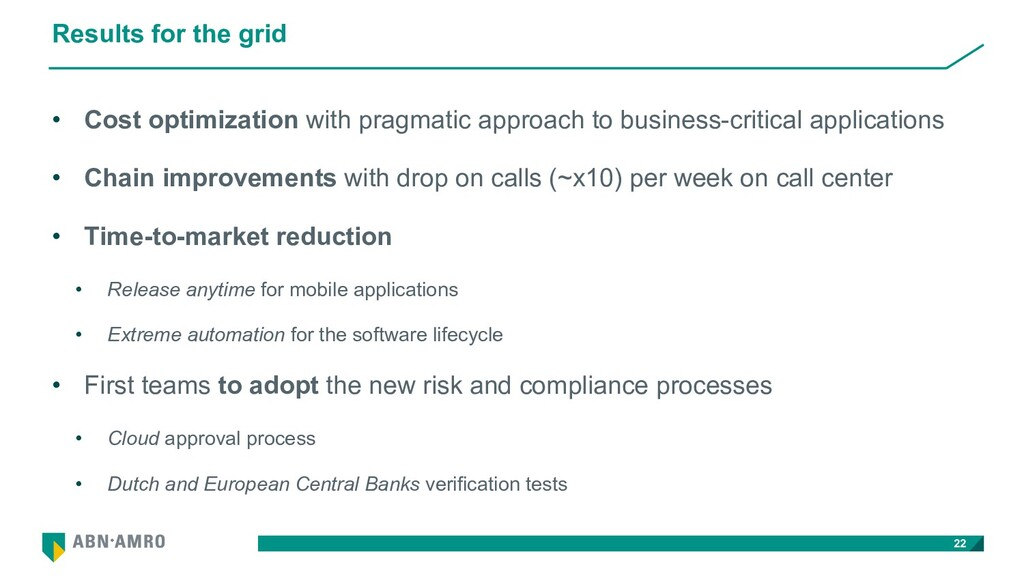 Results for the grid • Cost optimization with p...