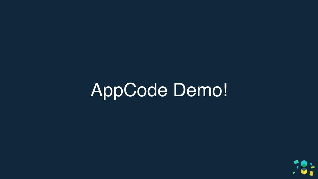 AppCode Demo!