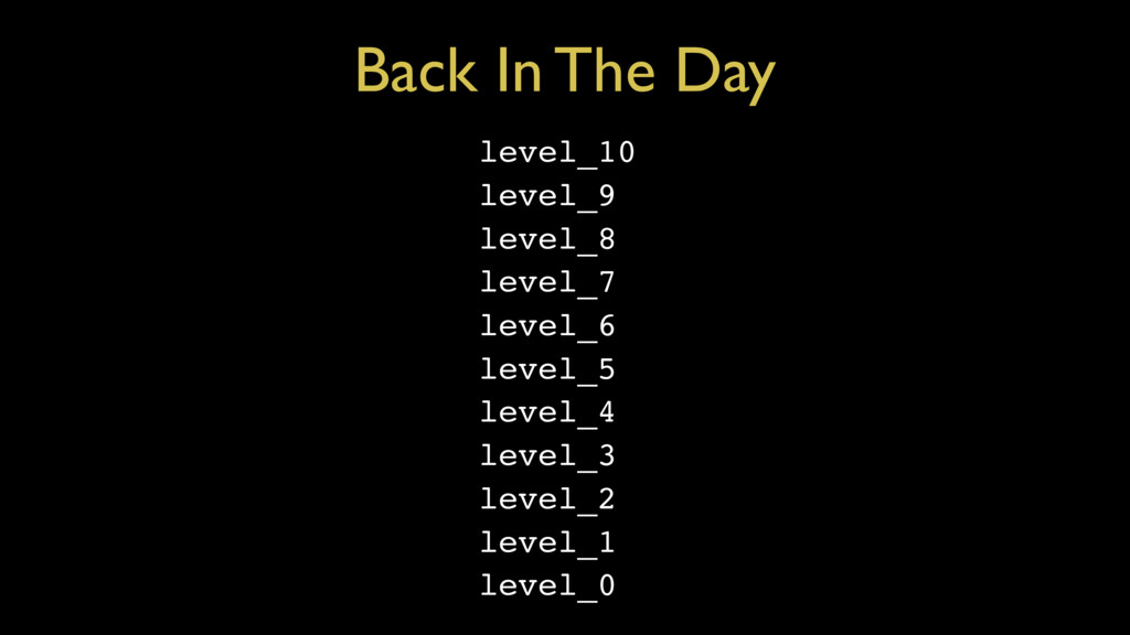 Back In The Day level_10 level_9 level_8 level_...