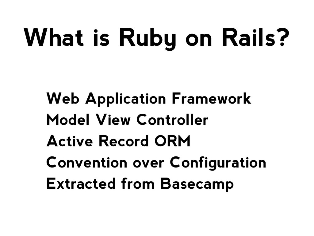 Web Application Framework Model View Controller...