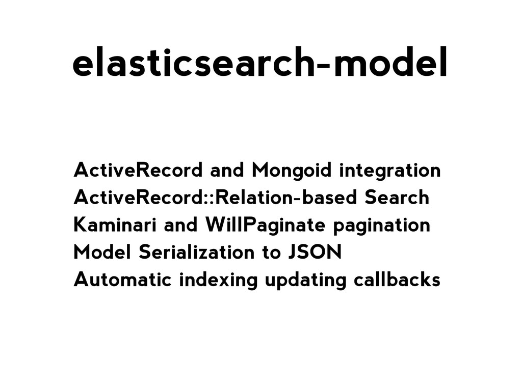 ActiveRecord and Mongoid integration ActiveReco...
