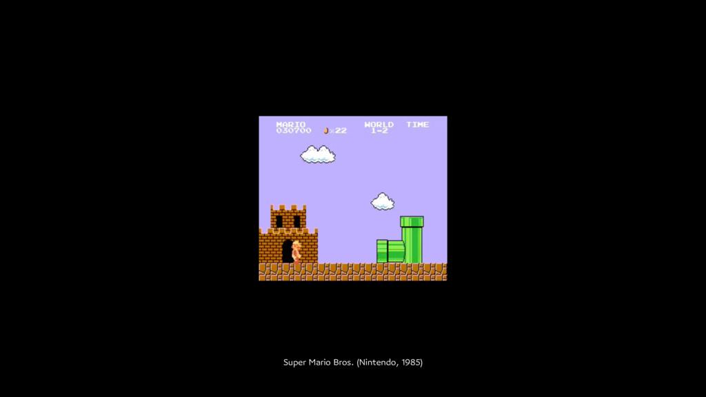Super Mario Bros. (Nintendo, 1985)