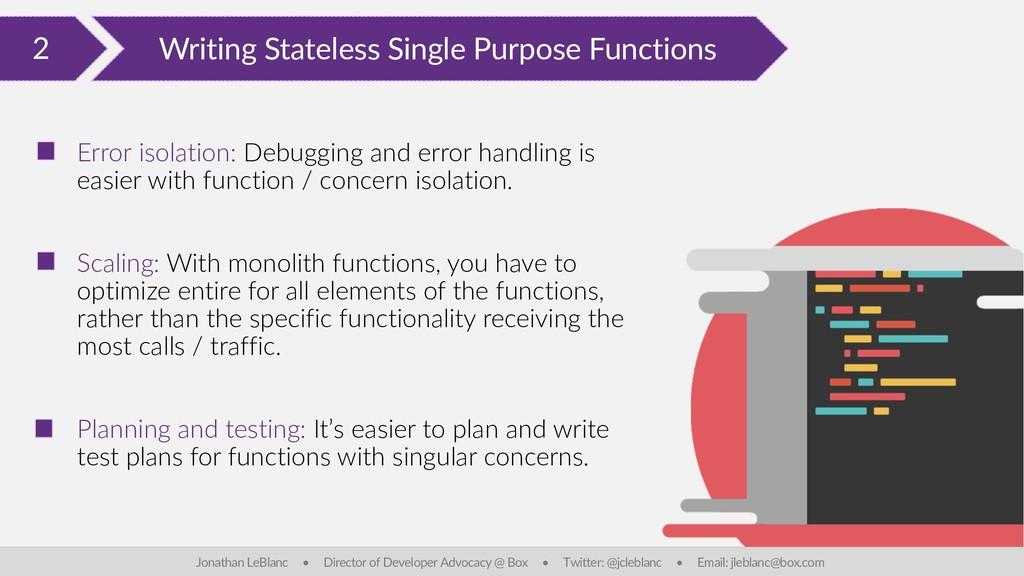 2 Writing Stateless Single Purpose Functions Jo...