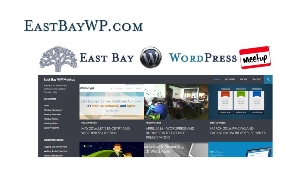 EastBayWP.com