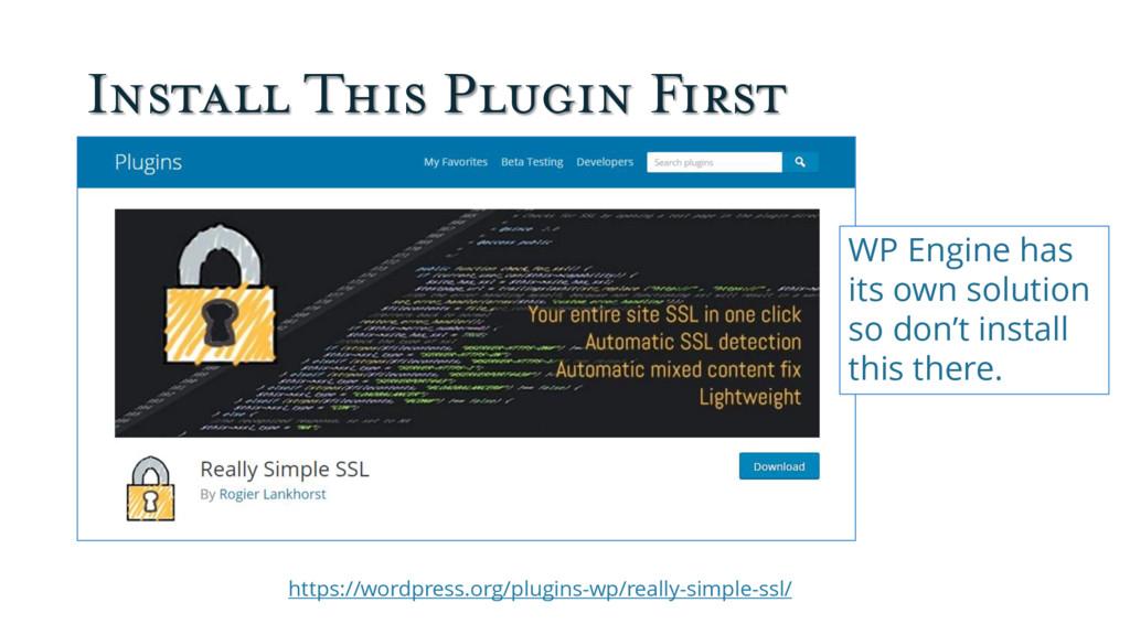 Install This Plugin First https://wordpress.org...