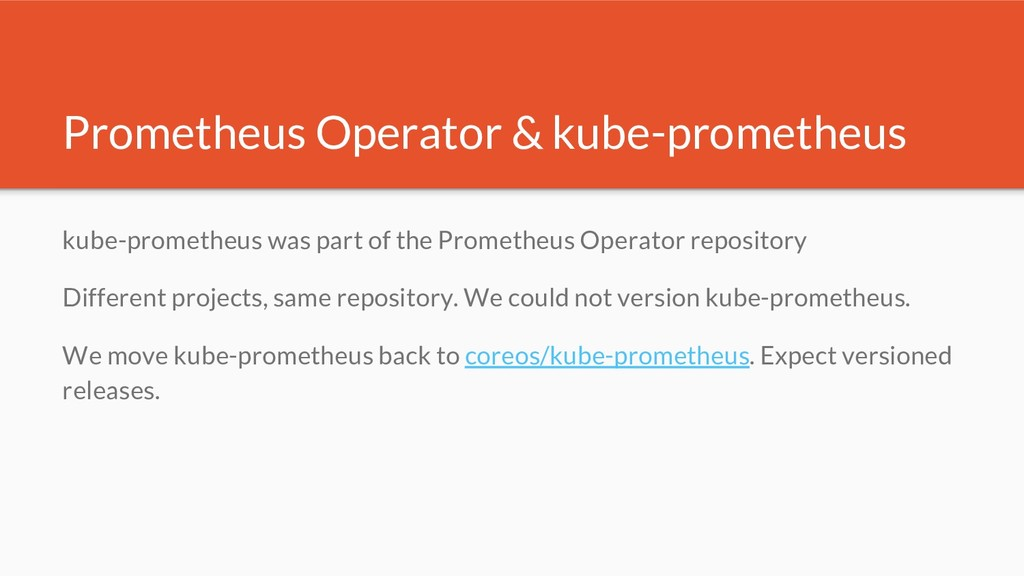Prometheus Operator & kube-prometheus kube-prom...