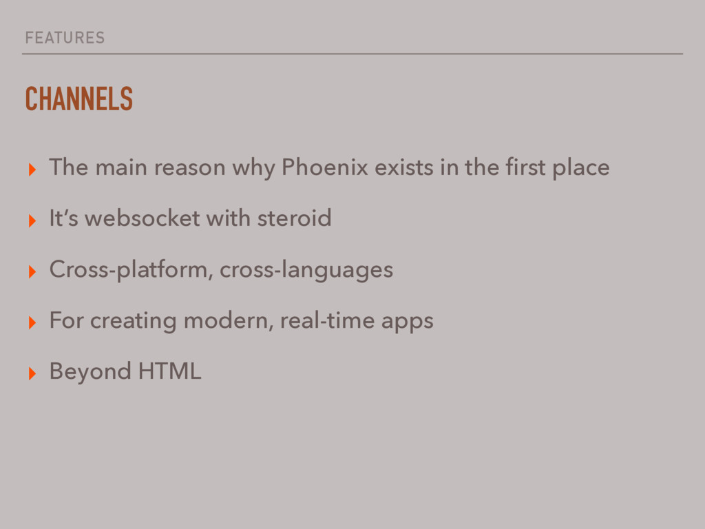 FEATURES CHANNELS ▸ The main reason why Phoenix...