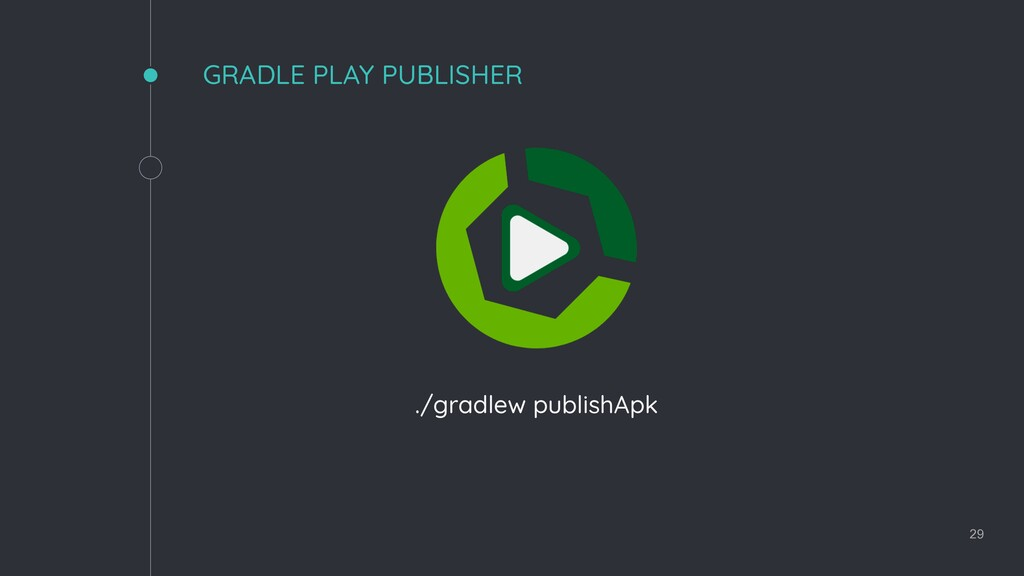 GRADLE PLAY PUBLISHER ./gradlew publishApk 29