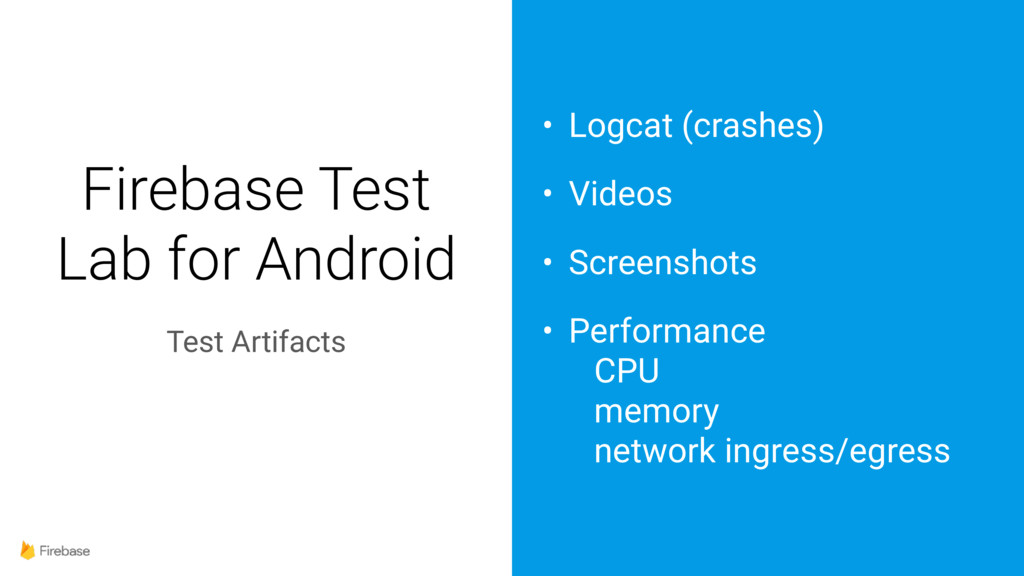 Firebase Test Lab for Android Test Artifacts • ...