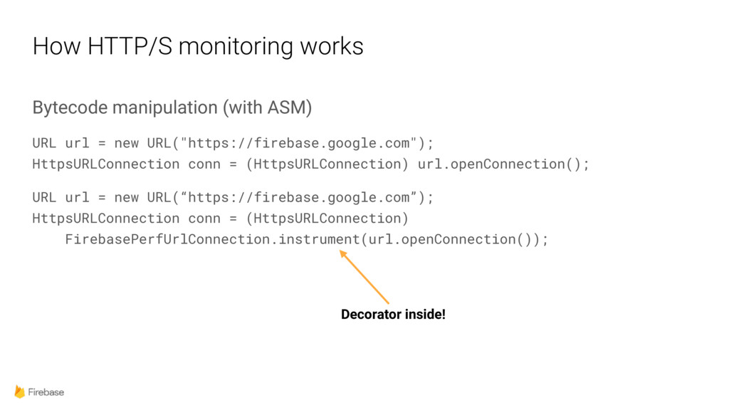 How HTTP/S monitoring works Bytecode manipulati...