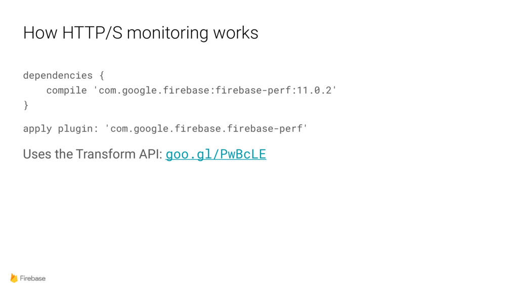 How HTTP/S monitoring works dependencies {