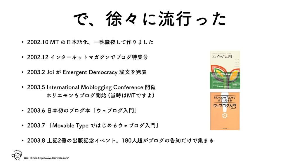 Daiji Hirata, http://www.daijihirata.com/ Ͱɺঃʑʹ...