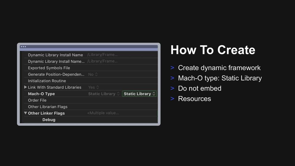 Ƃ How To Create > Create dynamic framework > Ma...