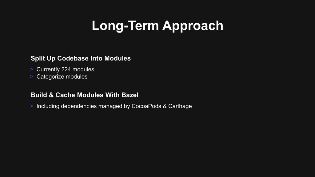> Including dependencies managed by CocoaPods &...