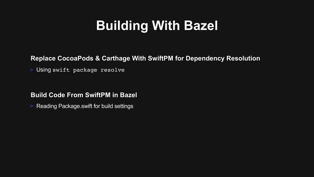 > Reading Package.swift for build settings Buil...