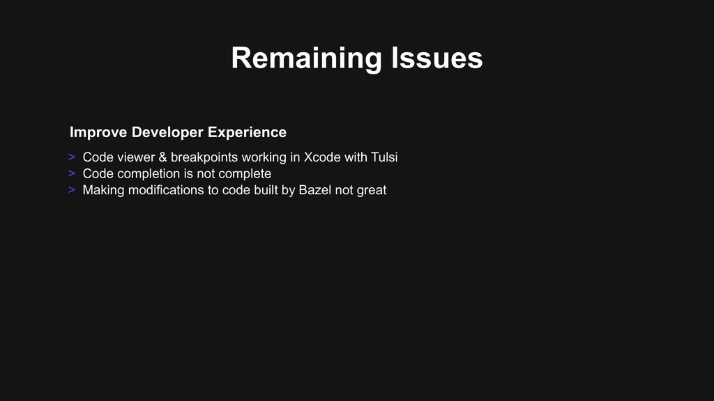 Improve Developer Experience > Code viewer & br...