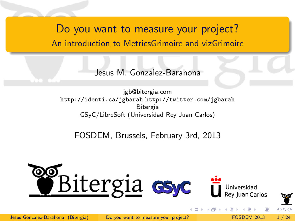 Do you want to measure your project? An introdu...