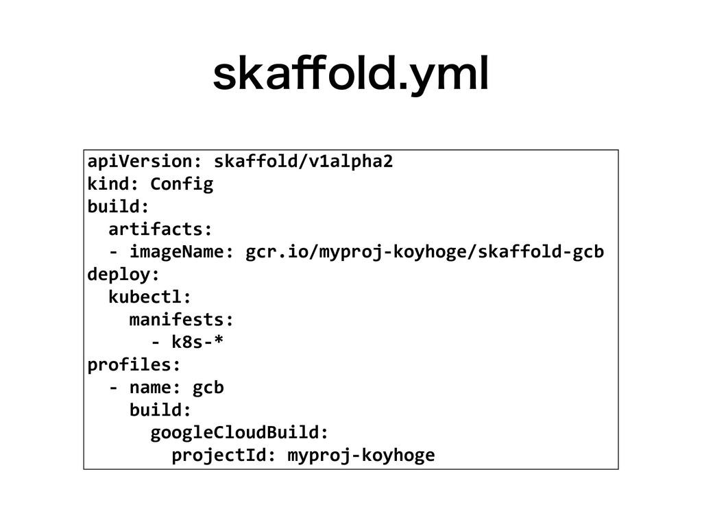 TLB⒎PMEZNM apiVersion: skaffold/v1alpha2 kind:...