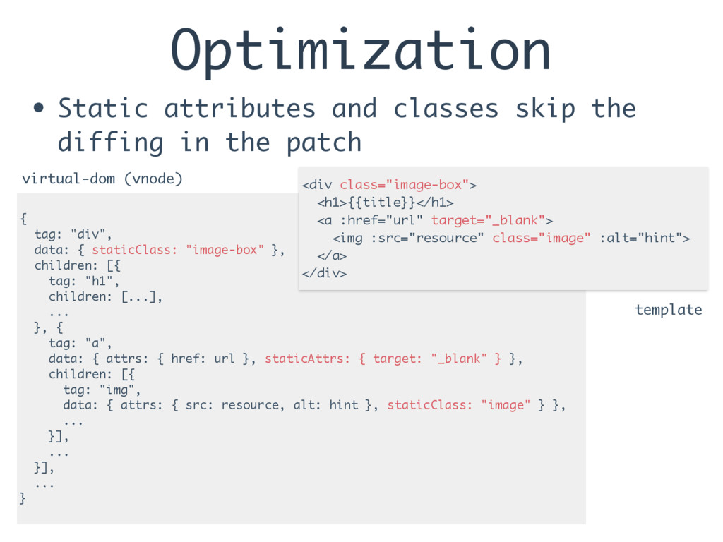 Optimization • Static attributes and classes sk...