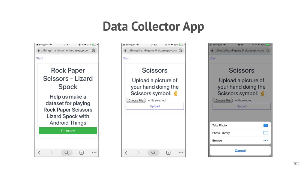 Data Collector App !104
