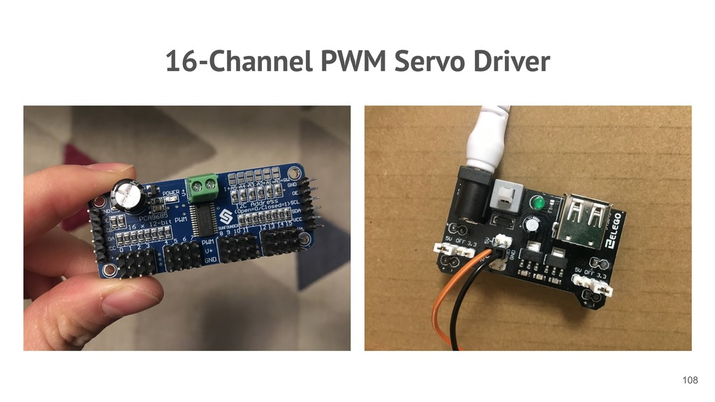 16-Channel PWM Servo Driver !108