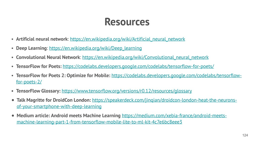 Resources • Artificial neural network: https://...