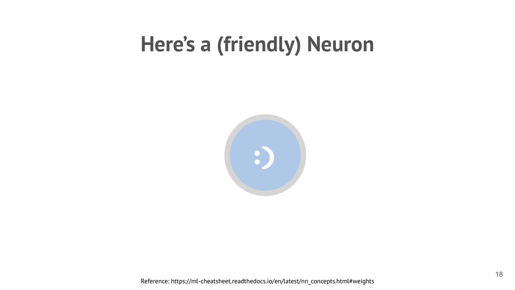 Here's a (friendly) Neuron Reference: https://m...