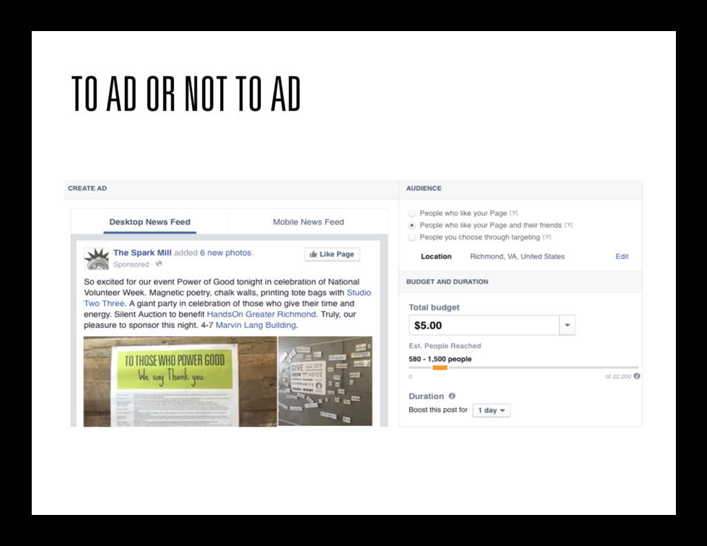 TO AD OR NOT TO AD