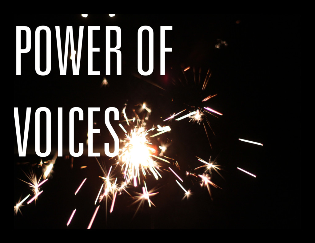 POWER OF VOICES