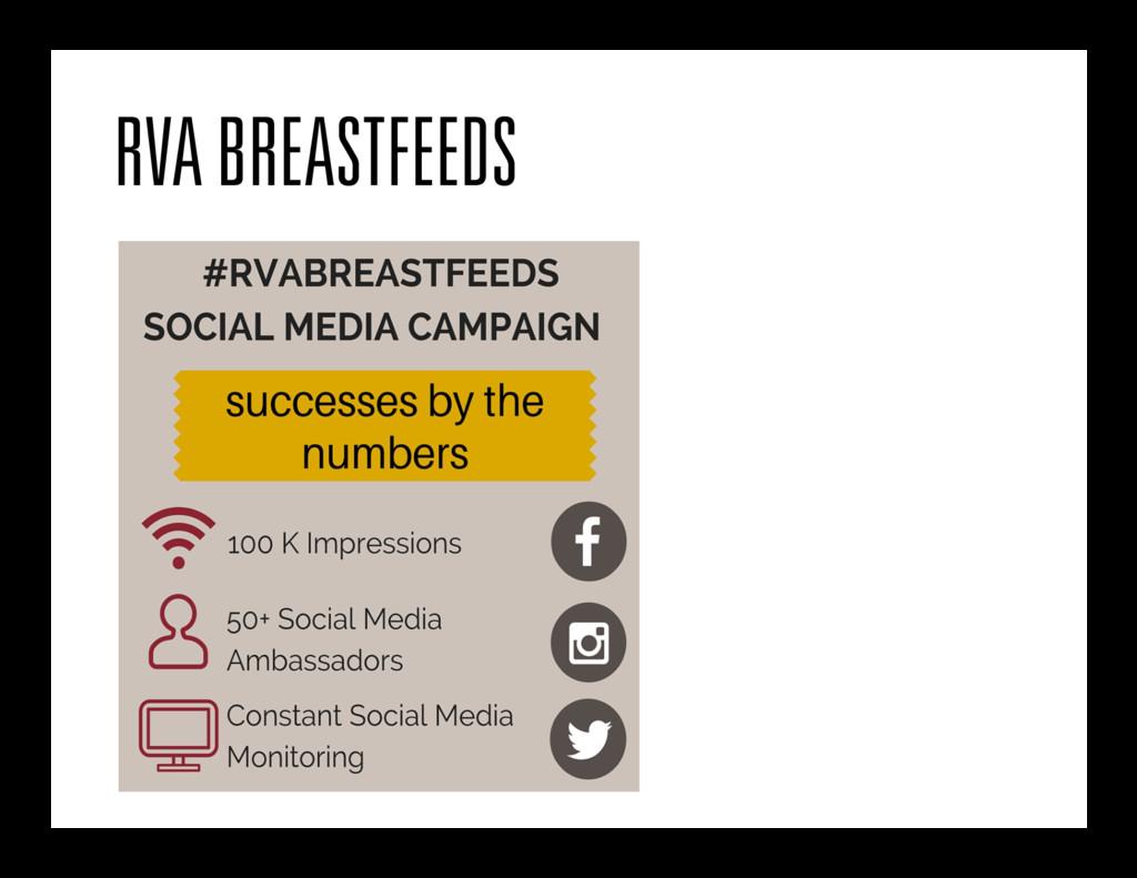RVA BREASTFEEDS