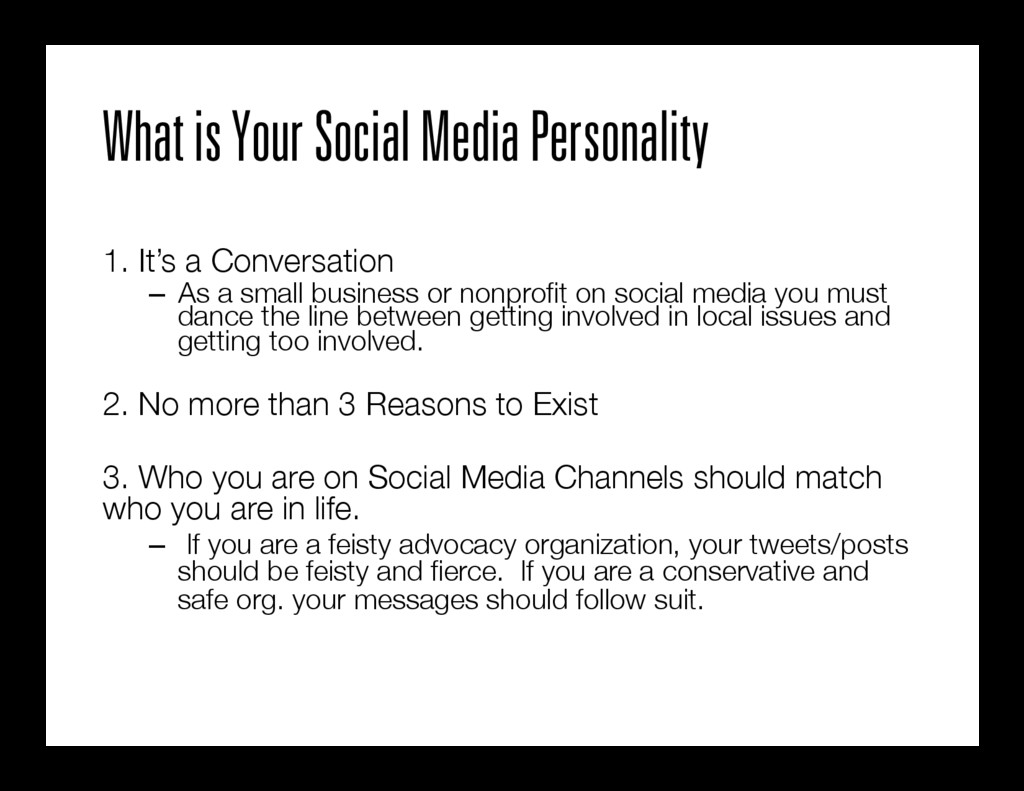 What is Your Social Media Personality  1. It's...