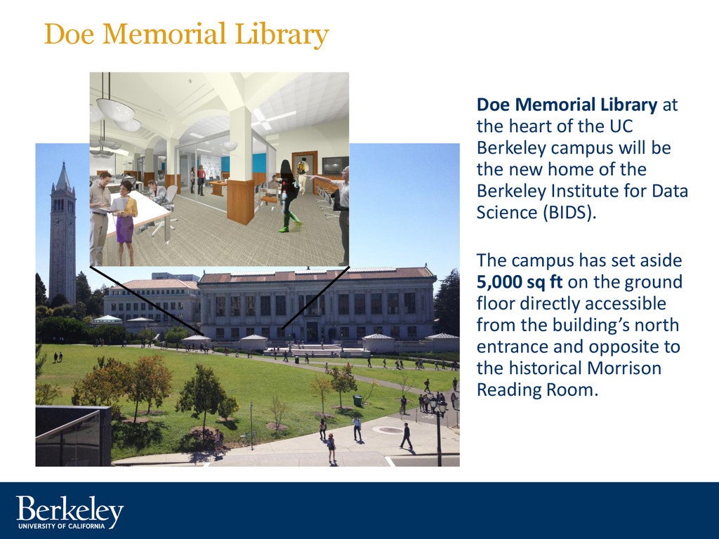 Doe Memorial Library Doe Memorial Library at th...