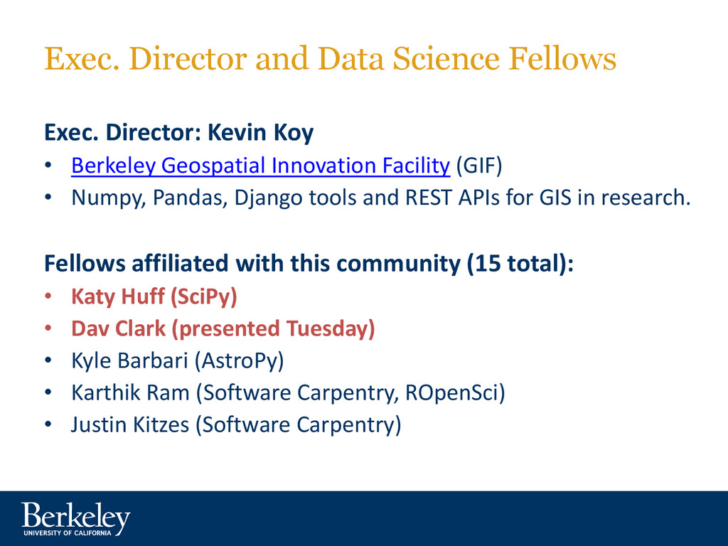 Exec. Director and Data Science Fellows Exec. D...