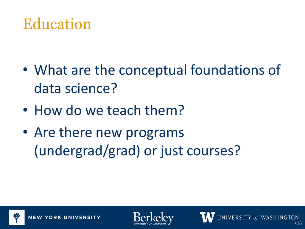 Education •16 • What are the conceptual foundat...