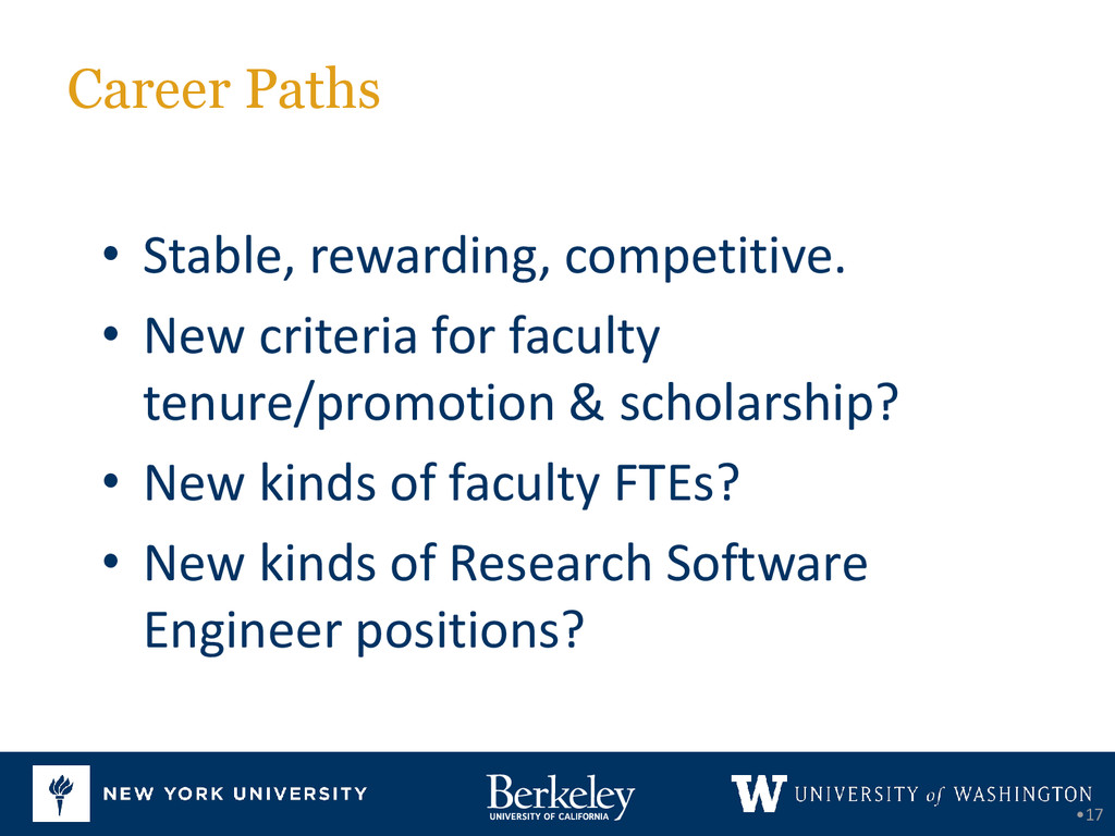 Career Paths •17 • Stable, rewarding, competiti...