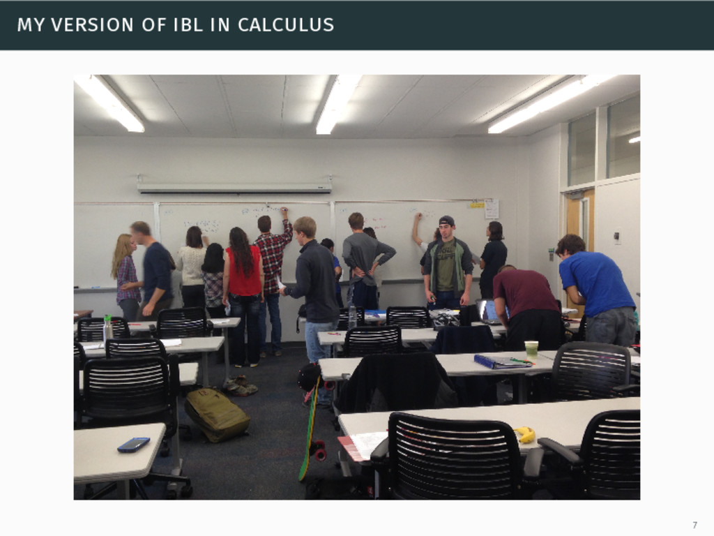 my version of ibl in calculus 7
