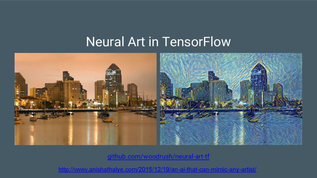 github.com/woodrush/neural-art-tf Neural Art in...